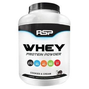 RSP Nutrition Whey Protein Powder