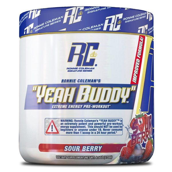 Ronnie Coleman's Yeah Buddy Sour Berry