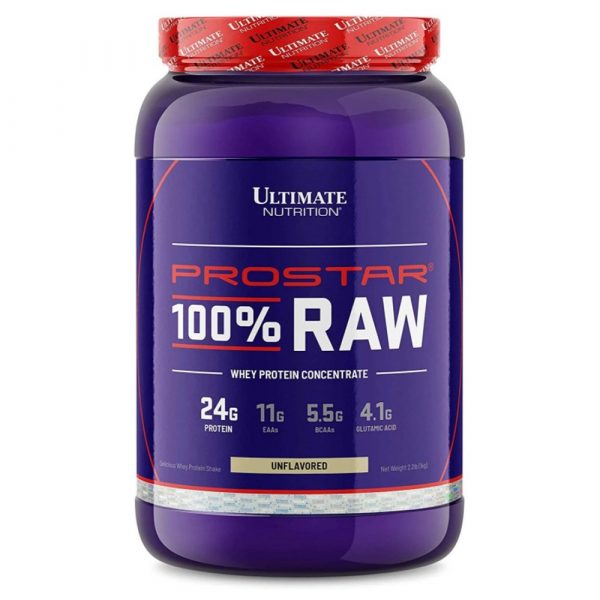 Ultimate Nutrition PROSTAR 100% Raw WPC